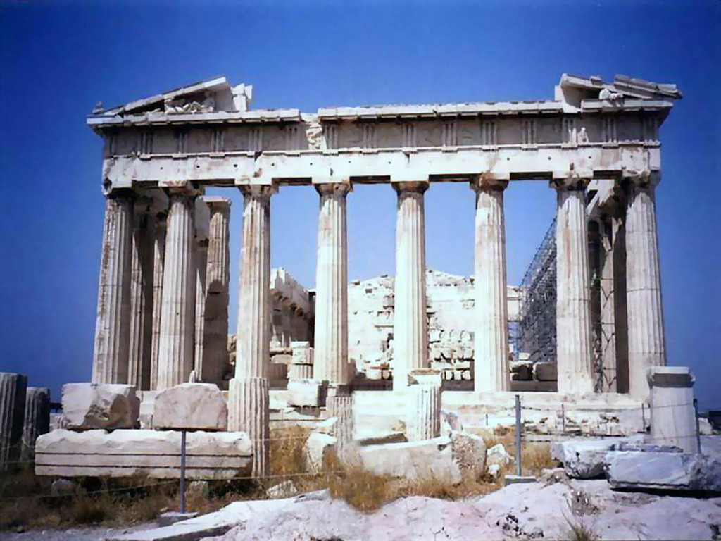 Grecia toda su belleza arquitectonica taringa for Arquitectura de grecia