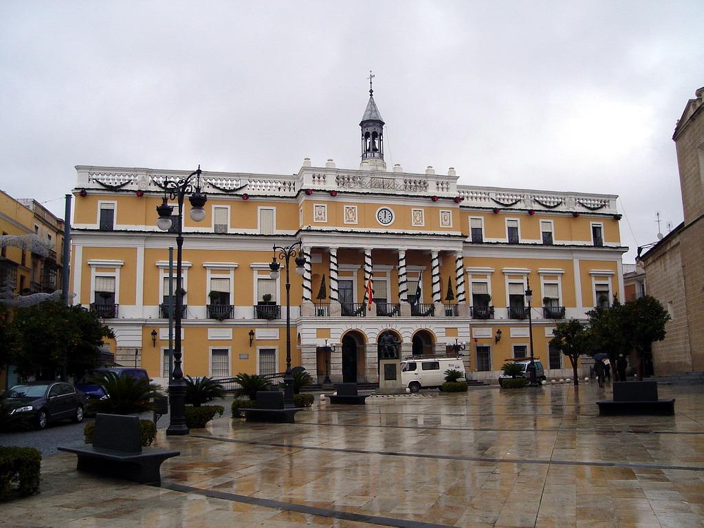 Ayuntamiento de badajoz for Ayuntamiento de villel de mesa